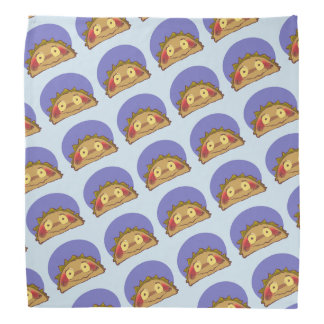 sweet taco character funny cartoon kerchief