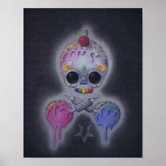 sweet tats art print