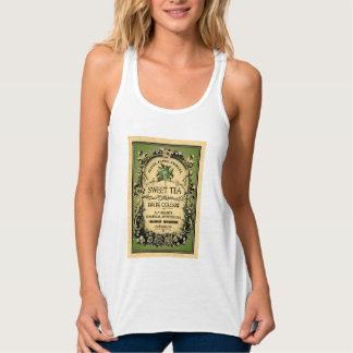 Sweet Tea Eau de Cologne Vintage Label Tank Top