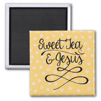 Sweet Tea & Jesus Magnet