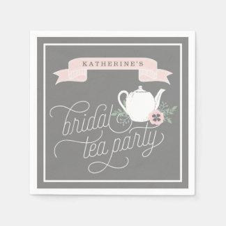 Sweet Tea | Personalized Bridal Tea Party Disposable Napkins
