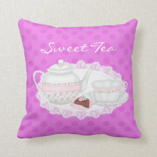 Sweet Teacup & Pastry AmericanPillow Pillows