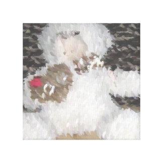 Sweet Teddy Bear Canvas Prints