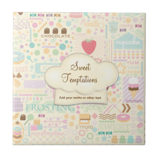 Sweet Temptations Bakery Boutique - Customize Tile