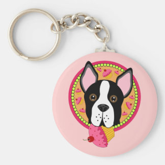 Sweet Terrier Keychain