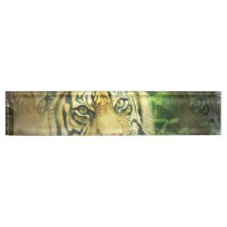 Sweet Tiger Name Plates