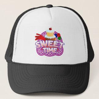 Sweet Time black Trucker Hat
