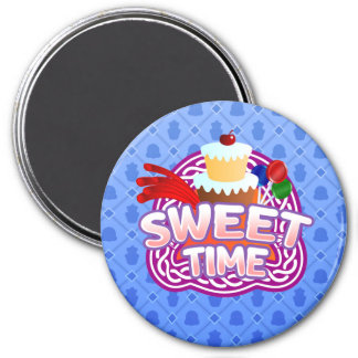 Sweet Time blue magnet