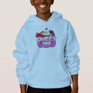 Sweet Time Kids light blue hooded sweatshirt