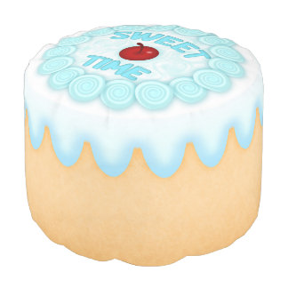 Sweet Time Round Pouf Cake