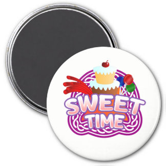 Sweet Time white magnet