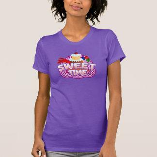 Sweet Time Women's purple T-shirt