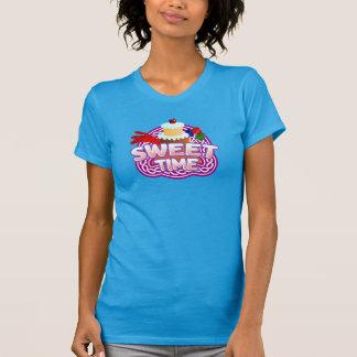 Sweet Time Women's teal T-shirt