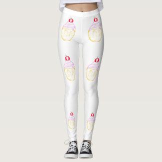 Sweet tooth cupcakes leggings