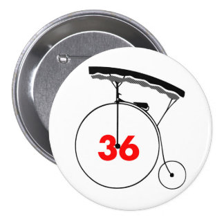 Sweet-toothed 36 3 inch round button