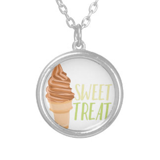 Sweet Treat Silver Plated Necklace