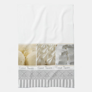 Sweet Treats Brocade Stripe Kitchen Towel