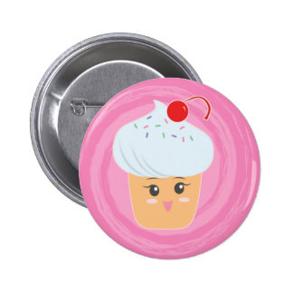 Sweet Treats - Cupcakes! 2 Inch Round Button