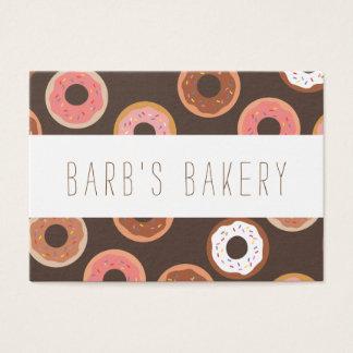 Sweet Treats Doughnuts Bakery Business Card