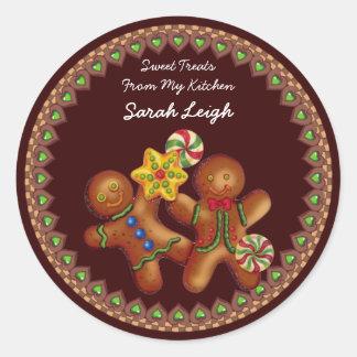 Sweet Treats Food Gift Sticker
