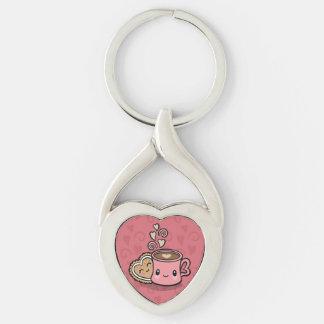 Sweet Treats heart keychain
