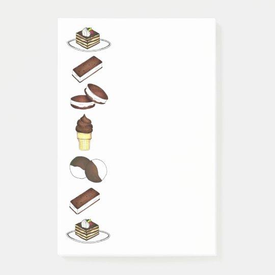 Sweet Treats Ice Cream Cookie Tiramisu Post Its Post-it Notes