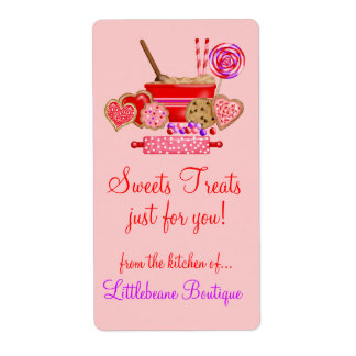 Sweet treats Large Labels