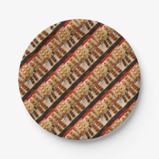 Sweet treats on display minus one paper plate