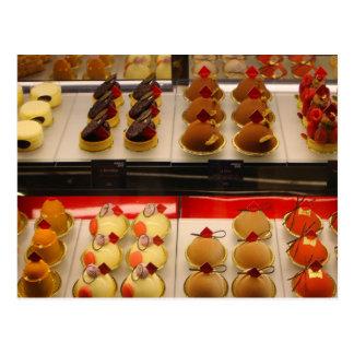 Sweet treats on display minus one postcard