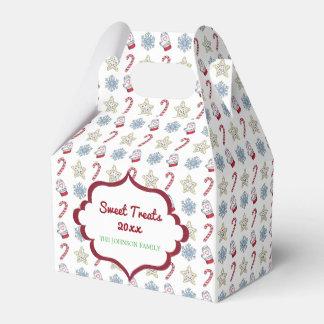 Sweet Treats Personalized Treat Box Favor Box
