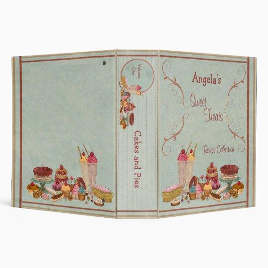 Sweet Treats Recipe Collection Binder