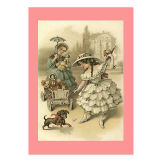 Sweet Victorian Style Gift Tag Tags The Journeyers Business Card