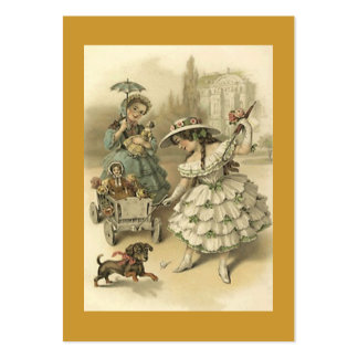 Sweet Victorian Style Gift Tag Tags The Journeyers Pack Of Chubby Business Cards