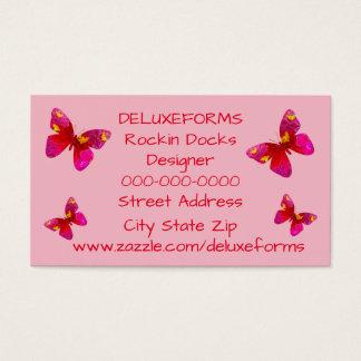 Sweet Vigorosa Butterfly Business Card