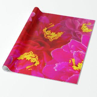 Sweet Vigorosa Flowers Wrapping Paper