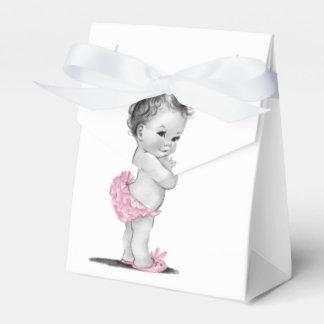 Sweet Vintage Baby Shower Favor Boxes