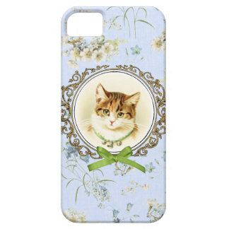 Sweet vintage cat portrait case for the iPhone 5