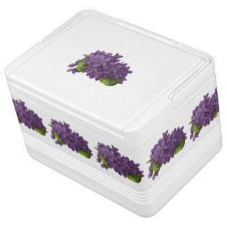 Sweet Violets Ice Chest