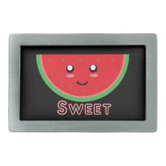 Sweet Watermelon Rectangular Belt Buckle