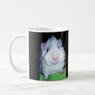 Sweet white Abyssinian Guinea Pig Coffee Mug