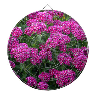 Sweet William in Bold Bloom Dartboard With Darts