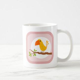 sweet yellow bird, sweet yellow bird coffee mug