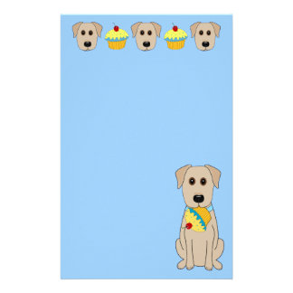 Sweet Yellow Lab Stationery