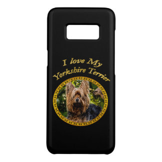 Sweet Yorkshire terrier small dog Case-Mate Samsung Galaxy S8 Case