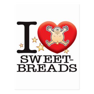 Sweetbreads Love Man Postcard