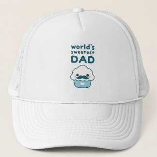 Sweetest Dad Trucker Hat