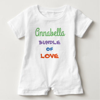Sweetest Personalize Baby Rompers Baby Clothing