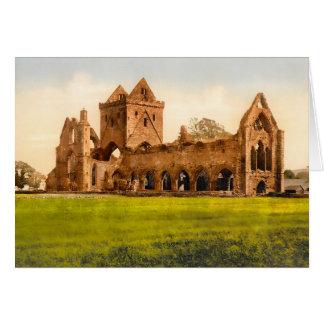 Sweetheart Abbey Dumfries Scotland Note Card