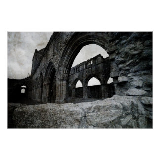 Sweetheart Abbey - Scotland - Poster