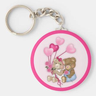 Sweetheart Bears keychain